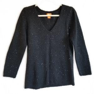 Joe Fresh black sweater large